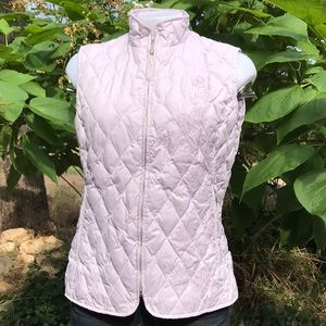 Eddie Bauer Goose Down Embroider Puffer Vest